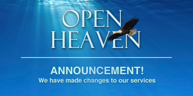 Changes To Our Service Times