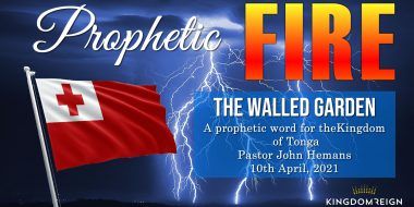 Prophetic Word for Tonga