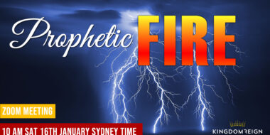 Prophetic Fire Zoom meeting coming up 16th January